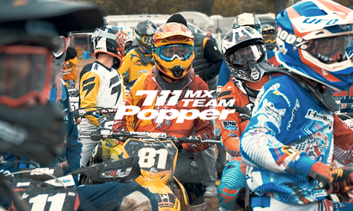 POPPER MX TEAM | PROMO